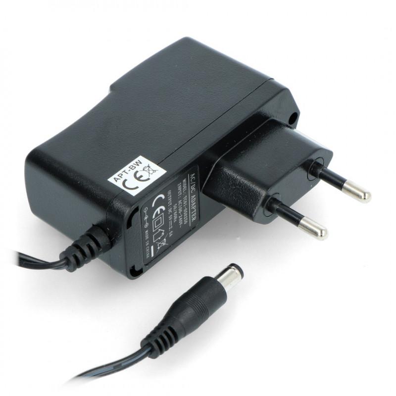 Power supply 5V/2,5A - DC plug 5,5/2,1mm_