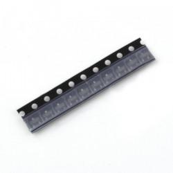The bipolar transistor BC847A NPN 50V/0.1 A SMD - 10pcs.