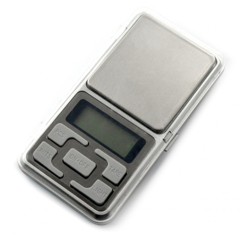 Pocket electronic scales MH-series 500g_