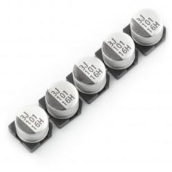 Kondensator elektrolityczny 100uF/16V SMD - 5 szt.