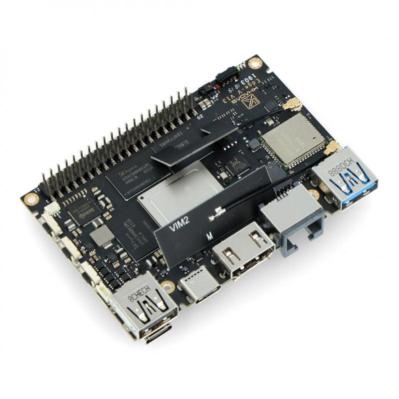 Khadas Edge-V Pro - Rockchip RK3399 Cortex A72/A53 + 4GB RAM/32GB eMMC