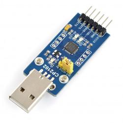 Konwerter USB-UART CP2102 - wtyk USB