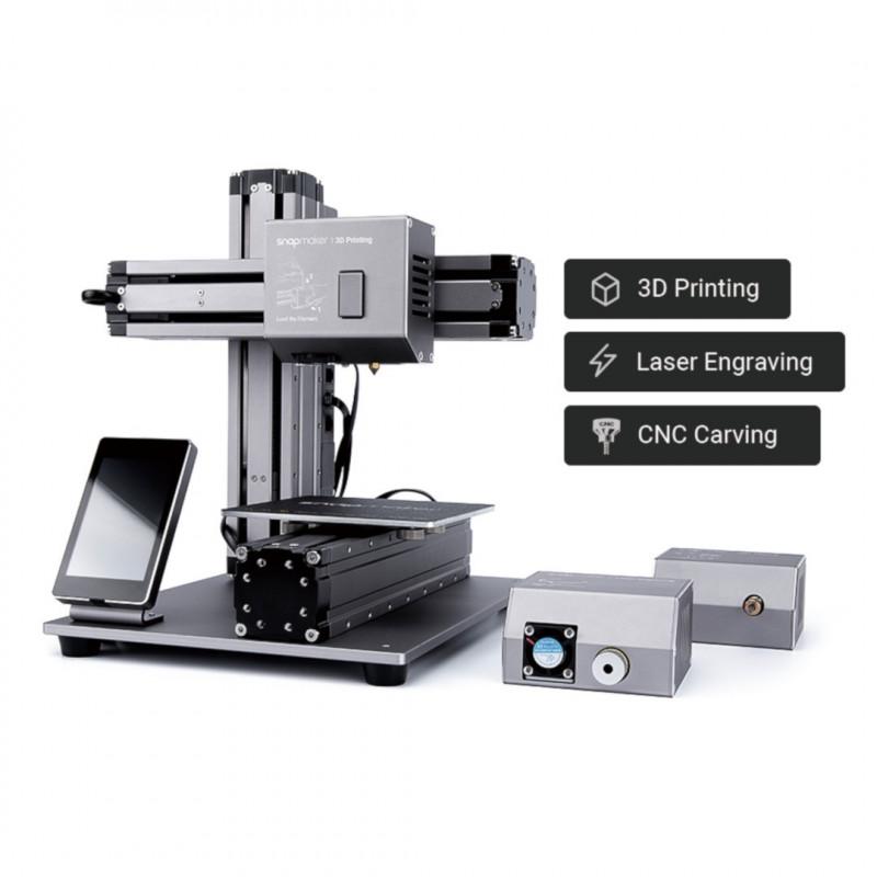 Drukarka 3D Snapmaker v1 3w1 - moduł lasera, CNC, druk 3D