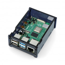 Case for Raspberry Pi Model 4B - black LT-4B09