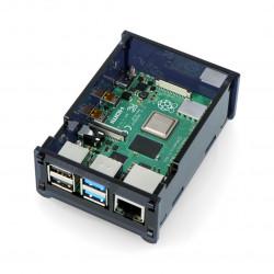 Obudowa Raspberry Pi Model 4B - czarna LT-4B09