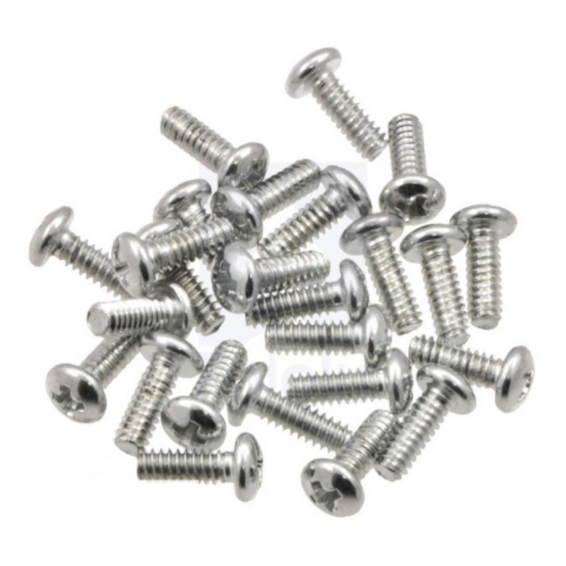 M3 PH Screws Length: 10mm with Washers - 10pcs.*