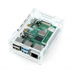 Case for Raspberry Pi Model 4B - transparent LT-4B11