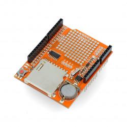 DataLogger Shield V1.0 z czytnikiem kart SD dla Arduino
