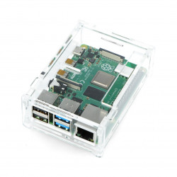 Case for Raspberry Pi Model 4B - transparent LT-4B12