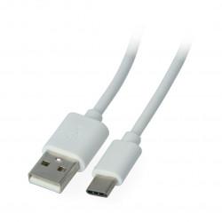 Przewód eXtreme USB 2.0 Typ-C biały - 1,5m