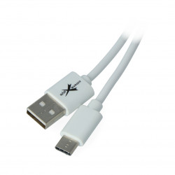 EXtreme USB 2.0 cable Type-C white - 1m
