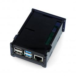 Case for Raspberry Pi Model 4B - black - LT-4B12
