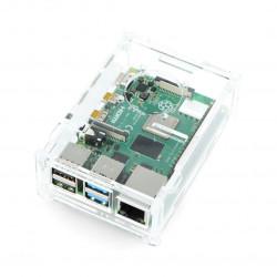 Case for Raspberry Pi Model 4B - transparent LT-4B13