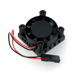 Wentylator 5V z radiatorem 25x25mm