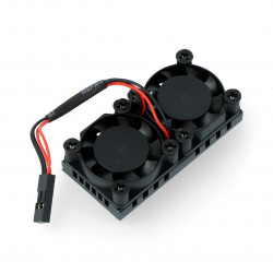 Wentylator 5V z radiatorem 50x25mm