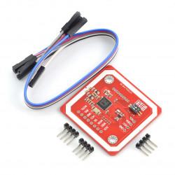 Moduł RFID/NFC PN532 13,56MHz I2C/SPI + karta i brelok