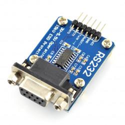 Konwerter RS232 - UART ze złączem DB9 - SP3232 3,3V/5V