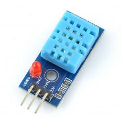 Czujnik temperatury i wilgotności DHT11 - moduł niebieski