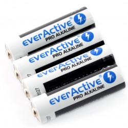 Bateria AA (R6 LR6) alkaliczna EverActive - 4szt