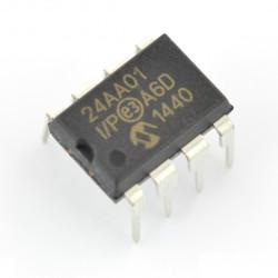 1kb I2C EEPROM memory - 24AA01-I/P*