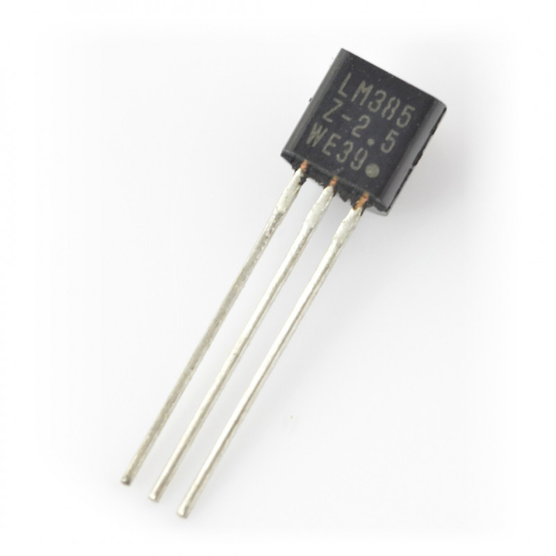 Reference voltage source LM385Z - 2.5V_