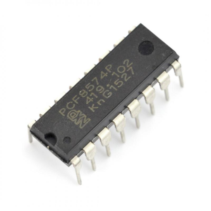 PCF8574 - ekspander wyprowadzeń I2C 8-bitowy