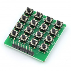 Tact Switch 3x6mm, 5mm SMD - 5szt.