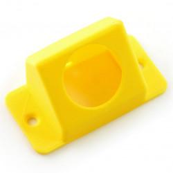 Obudowa do czujnika ruchu PIR - druk 3D żółta