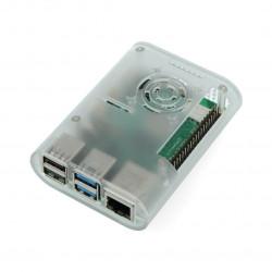 Obudowa do Raspberry Pi 4 - ABS - przezroczysta
