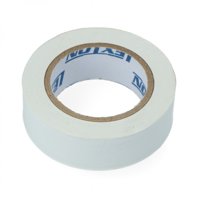 Insulation tape 19mm x 10m white