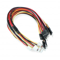 Grove - servo splitter cable - 5 pcs