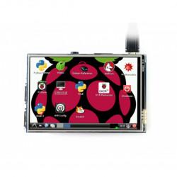 Ekran dotykowy Waveshare B - rezystancyjny LCD IPS 3,5'' 320x480px GPIO dla Raspberry Pi 3/2/B+/Zero