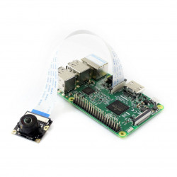 Kamera Waveshare Camera HD M OV5647 5Mpx - szerokokątna - dla Raspberry Pi