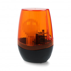 Lampa sygnalizacyjna kogut z odbiornikiem