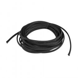 Oplot na kable Landberg 6mm (3-9mm) czarny poliester 5m
