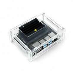 Acrylic case for Nvidia Jetson Nano - transparent