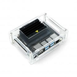 Obudowa akrylowa dla Nvidia Jetson Nano - przezroczysta