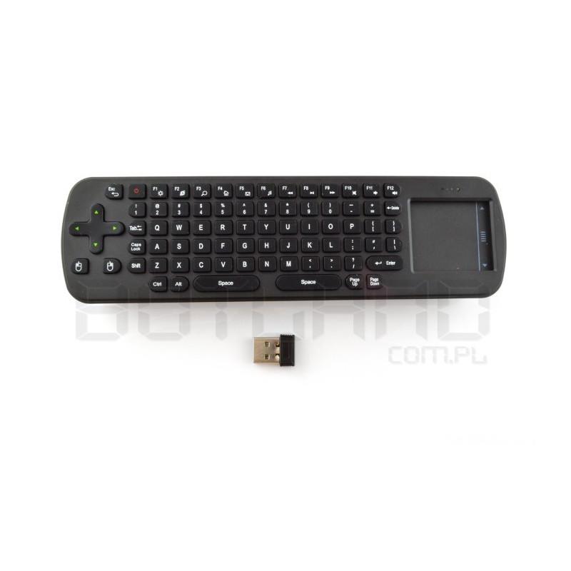 Klawiatura bezprzewodowa Measy RC12 klawiatura + touchpad - bezprzewodowe 2,4GHz