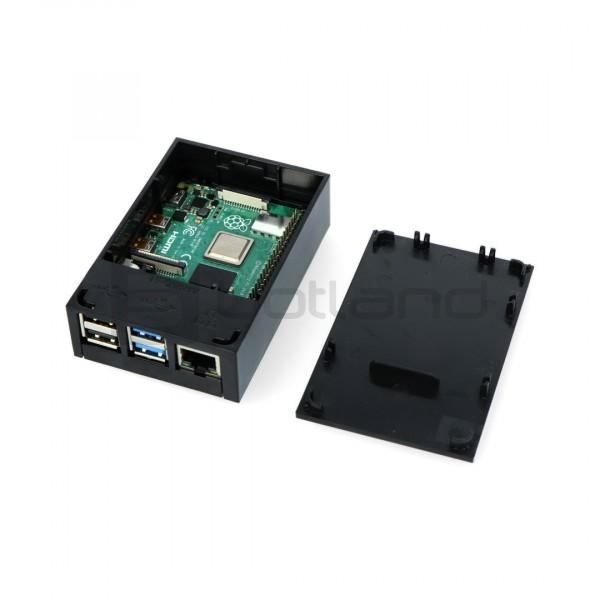Case for Raspberry Pi model 4B - Multicomp Pro - black