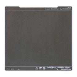 Płyta ze stali sprężynowej - dla drukarek Prusa MK3/MK3S - teksturowana