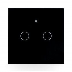 Coolseer WiFi Light Switch - wall switch - touchable - WiFi - 2-channels