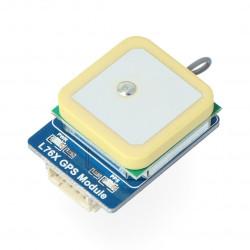 Waveshare moduł GPS L76X