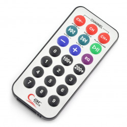 IR Remote Control with Battery - 21keys