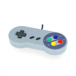 PiHut SNES - USB retro game controller compatible with Raspberry Pi