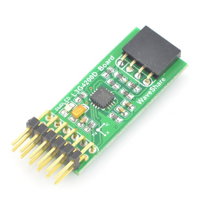 L3G4200D - 3-axis gyroscope I2C, SPI 3 3V - Waveshare module*