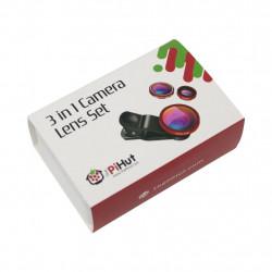 PiHut Lens Set 3 in 1 - set of lenses for PiHut cammeras