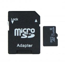 Karta pamięci microSD 64 GB klasa 10 z adapterem