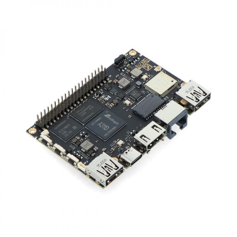 Khadas VIM3 Pro - ARM Cortex A73/A54 WiFi + 4GB RAM + 32GB eMMC