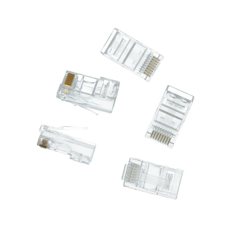 RJ45 network plug - 5pcs*