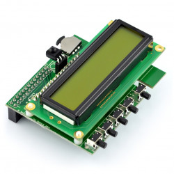 PiFace Control & Display 2 - extension for Raspberry Pi B+